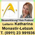 Katharina Monastir-Lebzak Beratungsstellenleiterin
